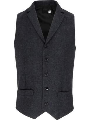 Gilet sans manches - PR625 gris - veston serveur homme