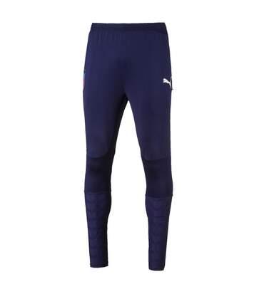 Pantalon bleu homme Puma FIGC Italia