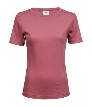 Tee Jays - T-Shirt À Manches Courtes 100% Coton - Femme (Rose) - UTBC3321