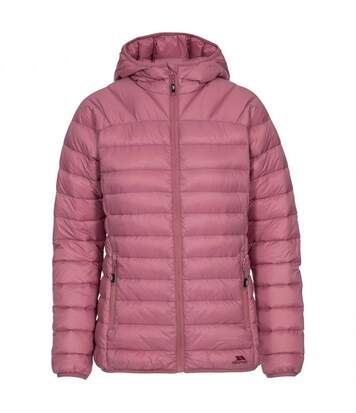 Trespass Womens/Ladies Trisha Packaway Down Jacket (Dusty Rose) - UTTP3544