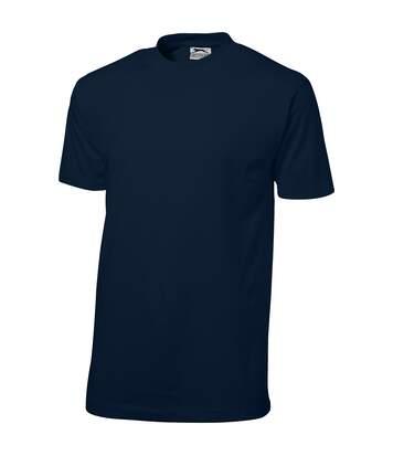 Slazenger - T-Shrit Manches Courtes Ace - Homme (Bleu marine) - UTPF1802