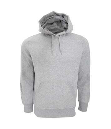 Canterbury Mens Team Hooded Sweatshirt/Hoodie (Grey Marl) - UTPC2484