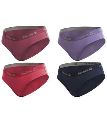 Lot De 4 Boxers Femme Reebook Multicolore