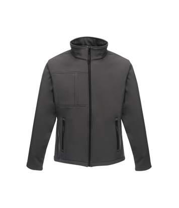 Regatta Professional Mens Octagon II Waterproof Softshell Jacket (Seal Grey/Black) - UTRG2164
