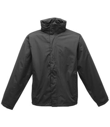 Regatta Mens Pace II Lightweight Waterproof Jacket (Black/Black) - UTBC1495