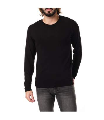 Pull Noir Homme Paname Brothers 01