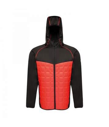Regatta Mens Modular Thermal Stretch Hybrid Jacket (Methyl Blue/Black) - UTRG3557