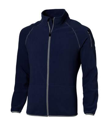 Slazenger Mens Drop Shot Full Zip Micro Fleece Jacket (Navy) - UTPF1795