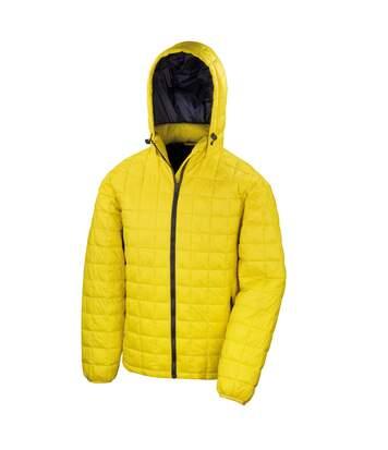 Result Adults Unisex Urban Outdoor Blizzard Jacket (Yellow/Navy) - UTRW5159