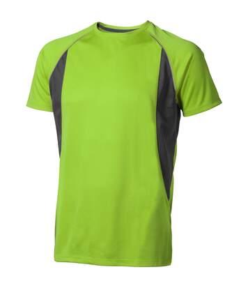 Elevate Mens Quebec Short Sleeve T-Shirt (Apple Green/Anthracite) - UTPF1882