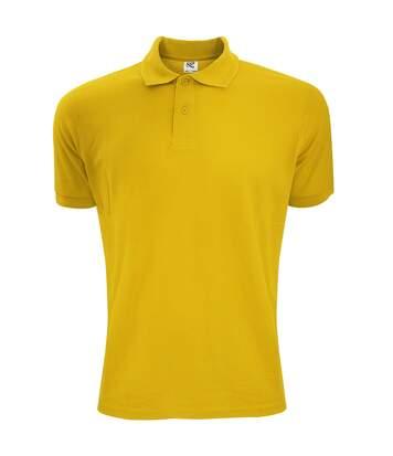 SG Mens Polycotton Short Sleeve Polo Shirt (Sunflower) - UTBC1084