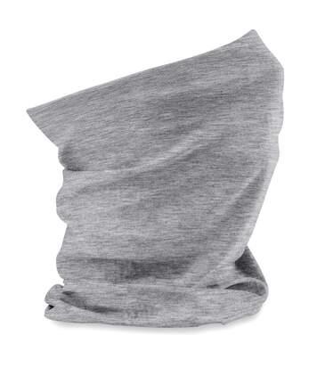 Echarpe tubulaire - tour de cou adulte - B900 - gris chiné