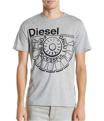 Tee Shirt Coton Gros Logo Ballock  -  Diesel