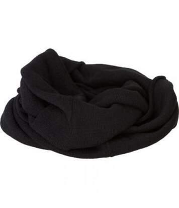 Echarpe - Tour de cou adulte - Taille unique - MB7302 - noir