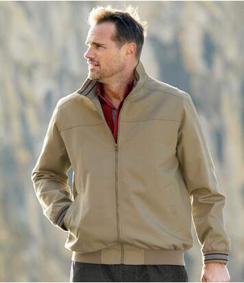 Twill-Blouson Outdoor