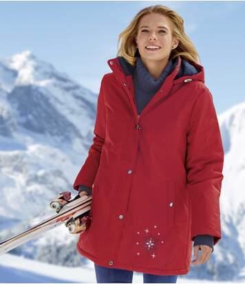 Lyžiarska bunda s kapucňou