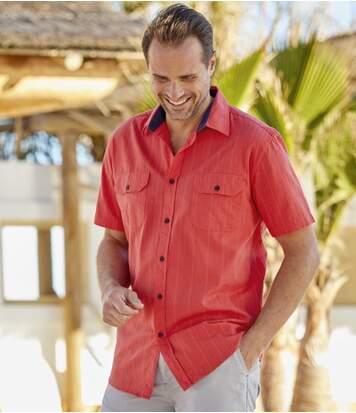 Рубашка из Ткани Добби от Atlas For Men