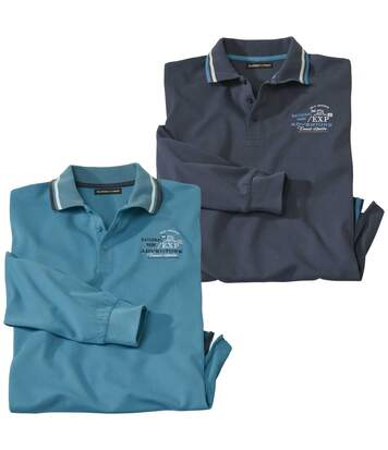 2er-Pack Poloshirts Trail Adventure
