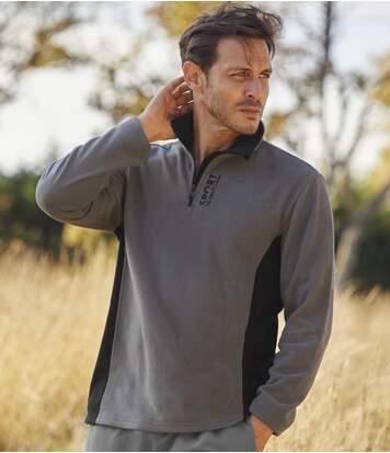Zestaw 2 swetrów sportowych z mikropolaru