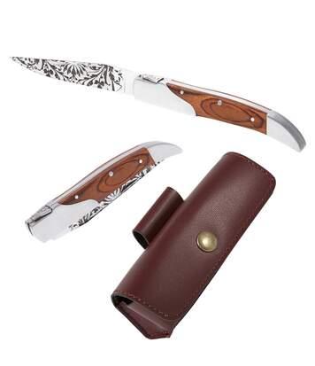 Couteau + son étui-ceinturon