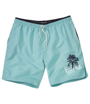 Men's Turquoise Pacific Surf Swim Shorts
