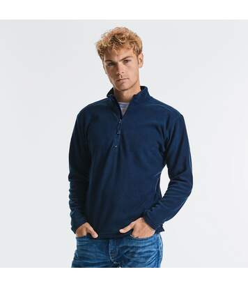 Russell Europe Mens 1/4 Zip Anti-Pill Microfleece Top (French Navy) - UTRW3283