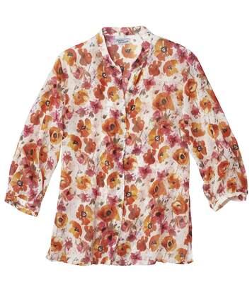 Блузка с Цветочным Мотивом