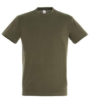 SOLS Mens Regent Short Sleeve T-Shirt (Army) - UTPC288