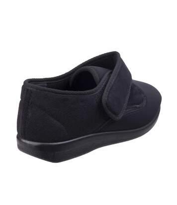 GBS Femmes Audrey Pantoufle Chaussures Chausson Slip-On Fermeture Textile