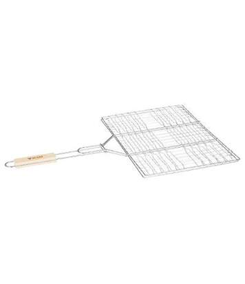 Double Grille Barbecue Summer 30x40cm Chrome