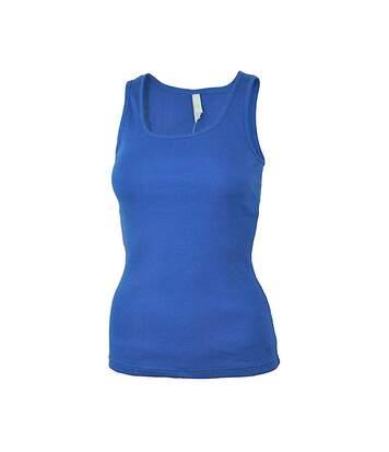 Débardeur bleu femme Adidas Neo