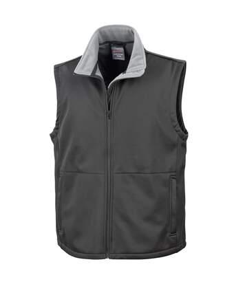 Result Mens Core Soft Shell Bodywarmer Jacket (Black) - UTBC907