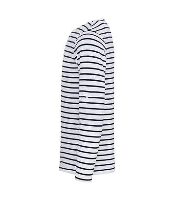 Premier Mens Long John Roll Sleeve Tee (Grey Marl) - UTRW6235