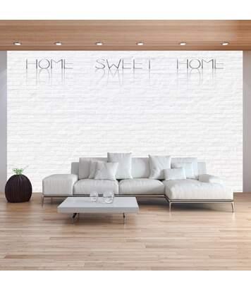 Paris Prix - Papier Peint home Sweet Home Wall 70 X 100 Cm