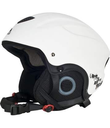 Trespass - Casque De Ski Skyhigh - Unisexe (Blanc) (M) - UTTP933