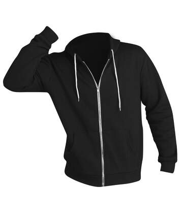 Sols Silver - Sweatshirt À Capuche Et Fermeture Zippée - Homme (Noir) - UTPC342