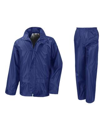 Result Core - Ensemble Veste Et Pantalon Imperméables Coupe-Vent - Homme (Bleu royal) - UTBC916