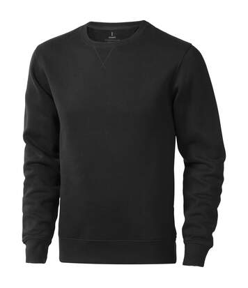 Elevate Mens Surrey Crew Neck Sweater (Anthracite) - UTPF1849