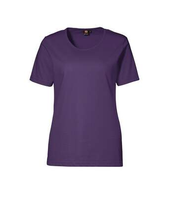 Id - T-Shirt À Manches Courtes - Femme (Violet) - UTID171