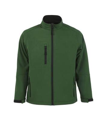 SOLS Mens Relax Soft Shell Jacket (Breathable, Windproof And Water Resistant) (Bottle Green) - UTPC347