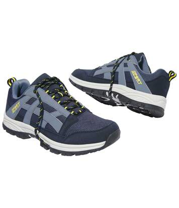 Men's Sporty Trainers - Navy