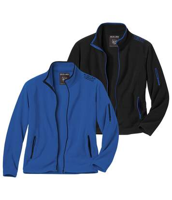 2er-Pack Microfleece-Jacken Outdoor