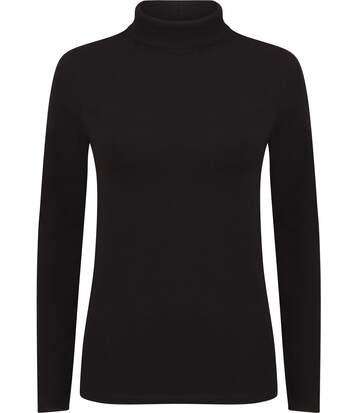 T-shirt Femme col roulé Feel Good