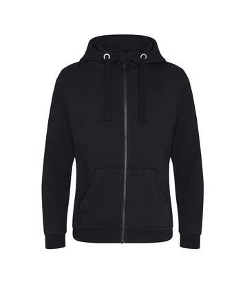 AWDis Just Hoods Mens Graduate Heavyweight Full Zip Hoodie (Jet Black) - UTPC2970