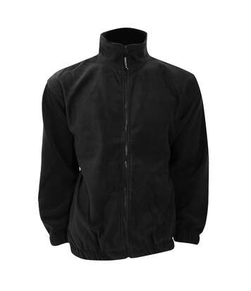 Grizzly® Full Zip Active Fleece Jacket (Black) - UTRW535