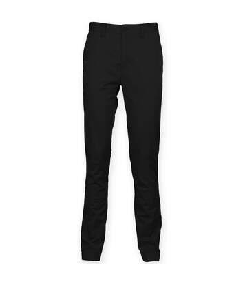Front Row - Pantalon Chino - Homme (Noir) - UTRW4698
