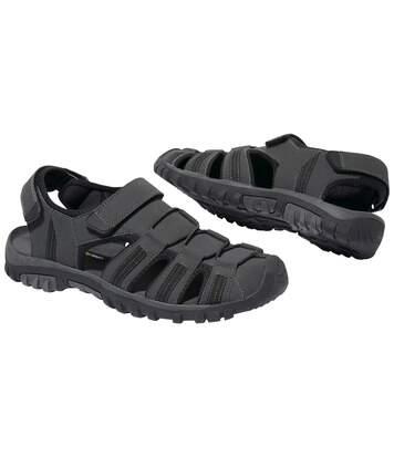 Outdoorové sandály na suchý zip