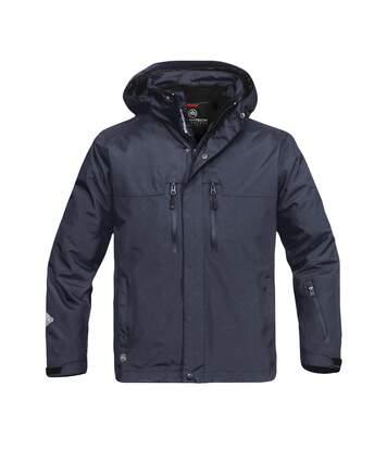 Stormtech Mens Hooded Beaufort 3-in-1 System Jacket (Waterproof & Breathable) (Navy Blue) - UTBC3077