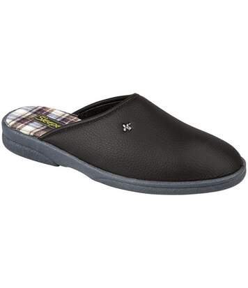 Sleepers Dwight - Chaussons Mules - Homme (Noir) - UTDF831