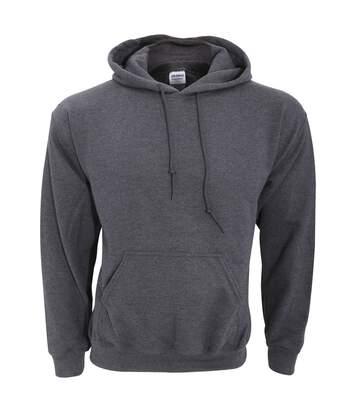Gildan - Sweatshirt À Capuche - Unisexe (Gris foncé chiné) - UTBC468